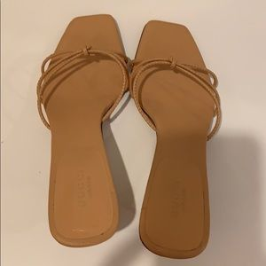 Gucci bamboo sandals